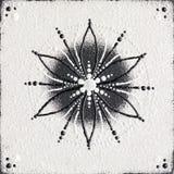 Monochromu ziarno życie symbol Fotografia Royalty Free