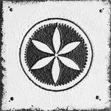 Monochromu ziarno życie symbol Obrazy Stock