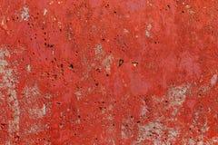 Monocolor orange painted flat concrete surface closeup texture.  stock photos