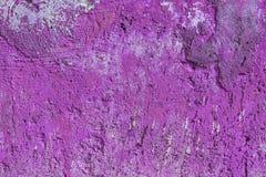 Monocolor pink painted flat concrete surface closeup texture.  stock photo