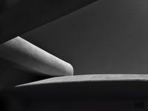 Monocromo arquitectónico abstracto Imagen de archivo