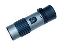Monocular telescope royalty free stock image