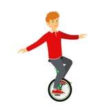 Monocycle Royalty Free Stock Image