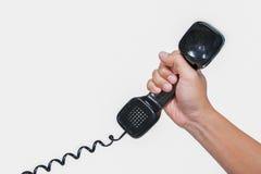 Monofone de telefone fotografia de stock