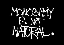 Monogamy is not natural Stock Photo