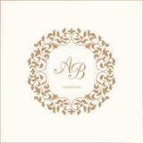 monogram Obraz Royalty Free