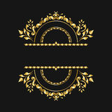 monogram Imagens de Stock Royalty Free
