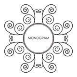 monogram Royaltyfria Bilder