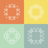 Monogram Collection Stock Photography