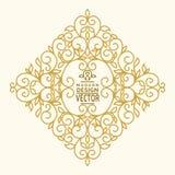 Monogram Design Element Royalty Free Stock Image