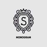Monogram15 Royalty Free Stock Images
