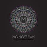 MONOGRAM ikony 56trd wff royalty ilustracja