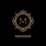 Monogram7 Stock Image