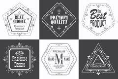 Monogram logo template with flourishes calligraphic elegant ornaments vector illustration
