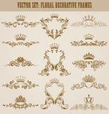 Monogram Logos Set Royalty Free Stock Image
