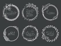 Monogram  luxury logo Stock Images