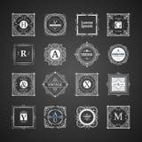 Monogram luxury  template Royalty Free Stock Photo