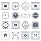 Monogram luxury  template Stock Photo