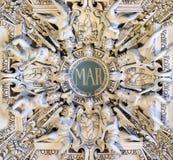 Monogram Maria royalty-vrije stock afbeelding