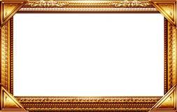 Monogram photo frame Royalty Free Stock Photo