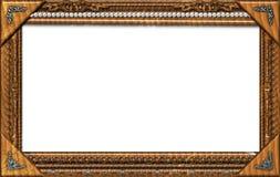 Monogram photo frame Stock Photography