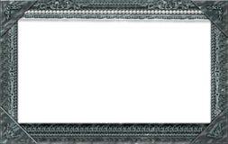 Monogram photo frame Royalty Free Stock Image