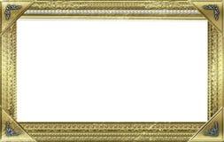 Monogram photo frame Stock Image