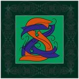 Monogram s,z Royalty Free Stock Images