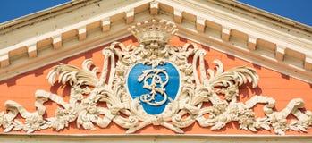 Monogram van Telling Sheremetevs royalty-vrije stock afbeeldingen