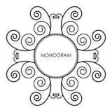 monograma Imágenes de archivo libres de regalías