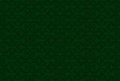 Monogramas no fundo verde Ilustração Stock