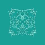 Monogramkader Royalty-vrije Stock Fotografie