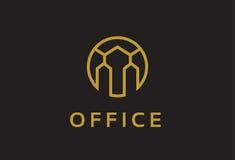 Monogramme abstrait Logo Template Design Vector, emblème, concept de construction, symbole créatif, icône Photo libre de droits