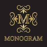 Monogrammikone Lizenzfreies Stockbild