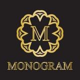 Monogrammikone Stockfoto