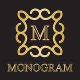 Monogrammikone Lizenzfreie Stockfotografie