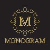 Monogrammikone Stockfotografie