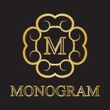 Monogrammikone Stockfotos