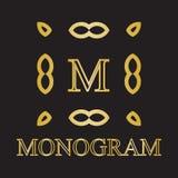 Monogrammikone Stockbilder
