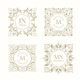 Monograms collection. Stock Photography