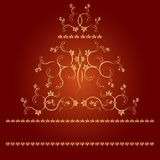 Frame with monograms for design and decorate. Royalty Free Stock Image