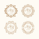 Monograms Royalty Free Stock Photos