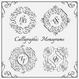 Monograms set Stock Photography