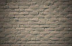 Monokrom bakgrund för tegelstenvägg Fotografering för Bildbyråer