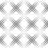 Monokrom geometrisk bakgrund Arkivbild