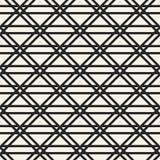 Monokrom geometrisk modell för abstrakt begreppsvektor Svartvit minsta bakgrund Idérik illustrationmall Arkivfoto