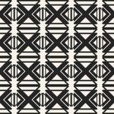 Monokrom geometrisk modell för abstrakt begreppsvektor Svartvit minsta bakgrund Idérik illustrationmall Arkivbilder