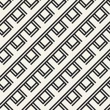 Monokrom geometrisk modell för abstrakt begreppsvektor Svartvit minsta bakgrund Idérik illustrationmall Fotografering för Bildbyråer