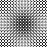 Monokrom geometrisk prydnad seamless vektor för modell Arkivbilder