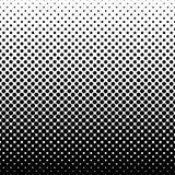 Monokrom halvtonabstrakt begreppbakgrund royaltyfri illustrationer